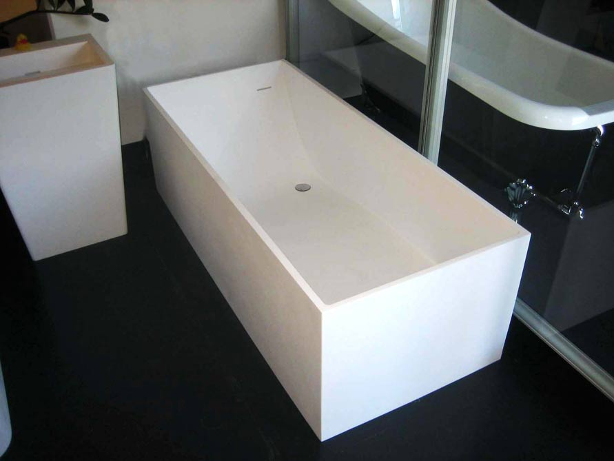 freistehende badewanne firenze von b dermax mineralguss badewanne ebay. Black Bedroom Furniture Sets. Home Design Ideas