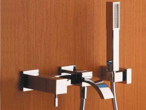 Terlago-308 - Chrome-Badewannen-Aufputzarmatur