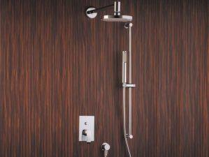 Levico-400 - Komplett-Unterputz-Dusche - Chrome | {Armaturen dusche unterputz 49}