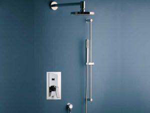Massenza-400 - Komplett-Unterputz-Dusche - Chrome | {Armaturen dusche unterputz 34}