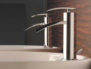 Levico-88 - Chrome-Waschbecken-Aufsatzarmatur