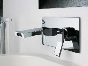 Massenza-497 - Chrome-Waschbecken-Unterputzarmatur