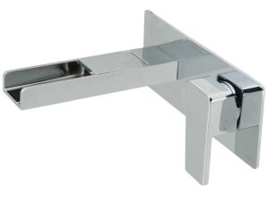 Synergie-109 - Chrome-Waschbecken-Unterputzarmatur