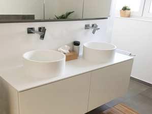 celone aufsatzbecken mineralguss wei matt oder gl nzend. Black Bedroom Furniture Sets. Home Design Ideas