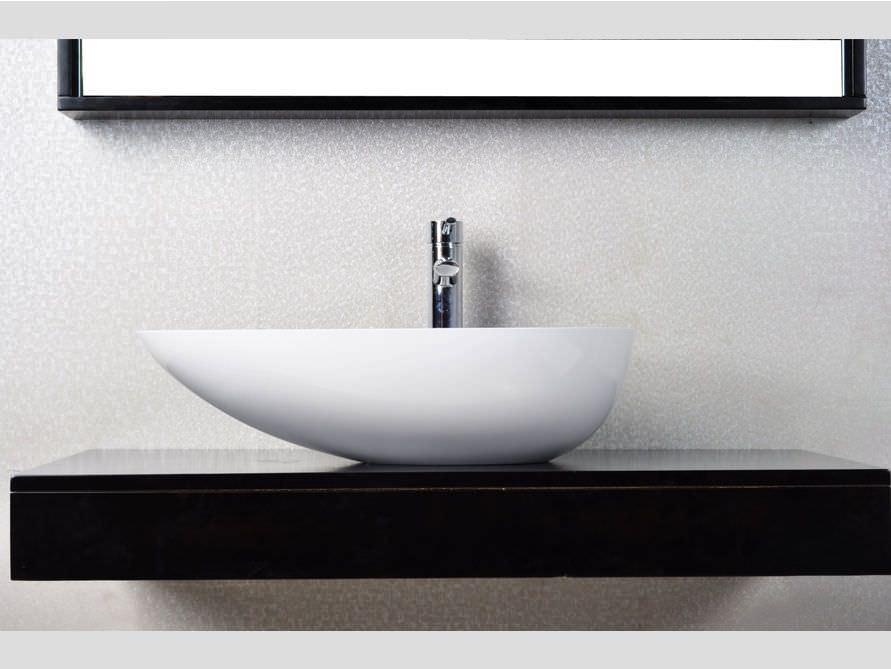 Exklusive Waschbecken cesano aufsatzbecken mineralguss weiß matt oder glänzend