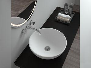 irminio aufsatzbecken mineralguss weiss matt oder gl nzend. Black Bedroom Furniture Sets. Home Design Ideas