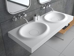 Belbo-Grande - Mineralguss-Waschbecken