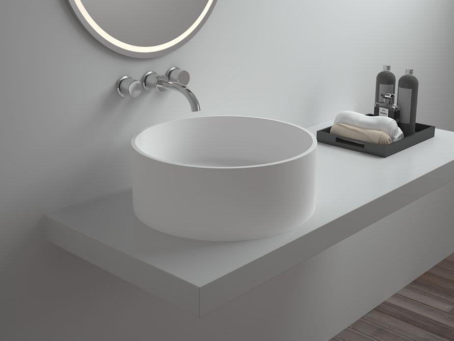 celone waschtische mineralguss weiss matt oder gl nzend. Black Bedroom Furniture Sets. Home Design Ideas