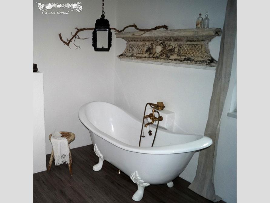Badezimmer-Idee mit der freistehenden Nostalgie Badewanne Edinburgh