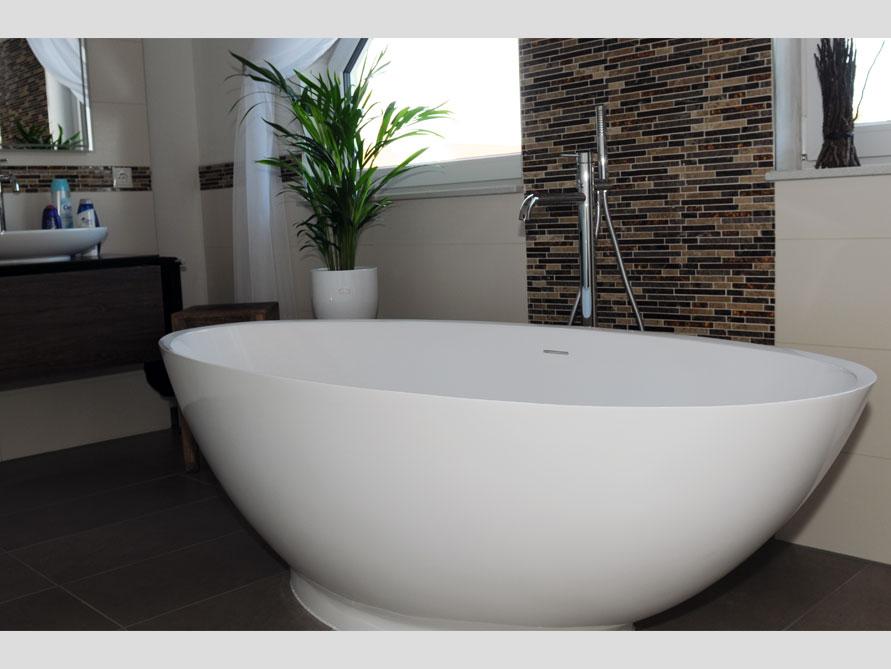 Badezimmer-Idee - Barletta - freistehenden Badewanne - Bad ...