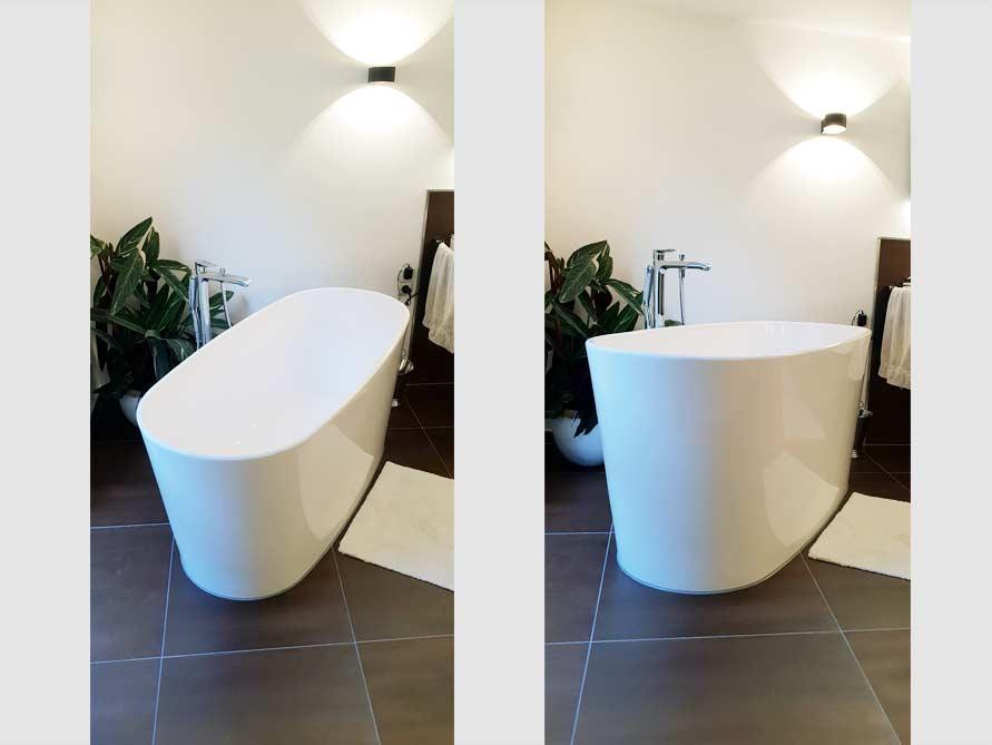 Badezimmer-Idee mit der freistehenden Badewanne Bellagio