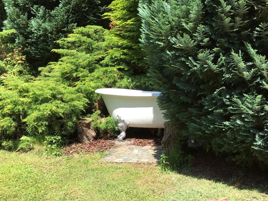 Badezimmer Idee mit der freistehenden Badewanne Bristol