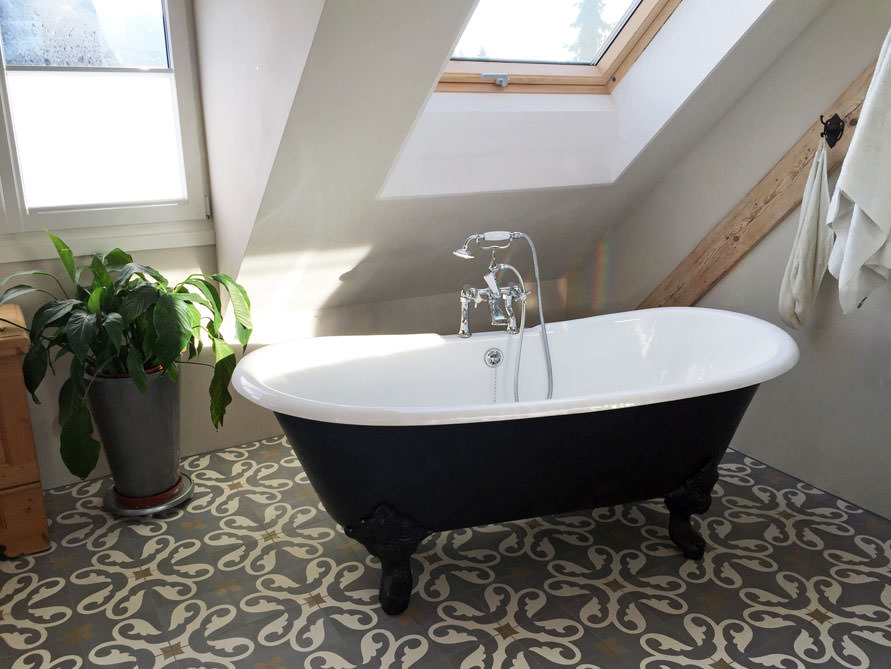 Badezimmer-Idee - Bristol - freistehenden Badewanne ...