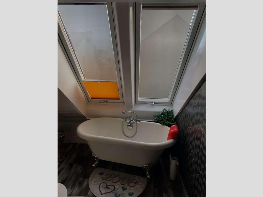 Badezimmer-Idee mit der freistehenden Badewanne Carlton 149