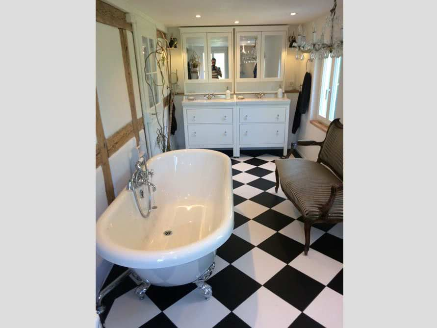 Badezimmer Idee Mit Der Freistehenden Badewanne Carlton 175. «