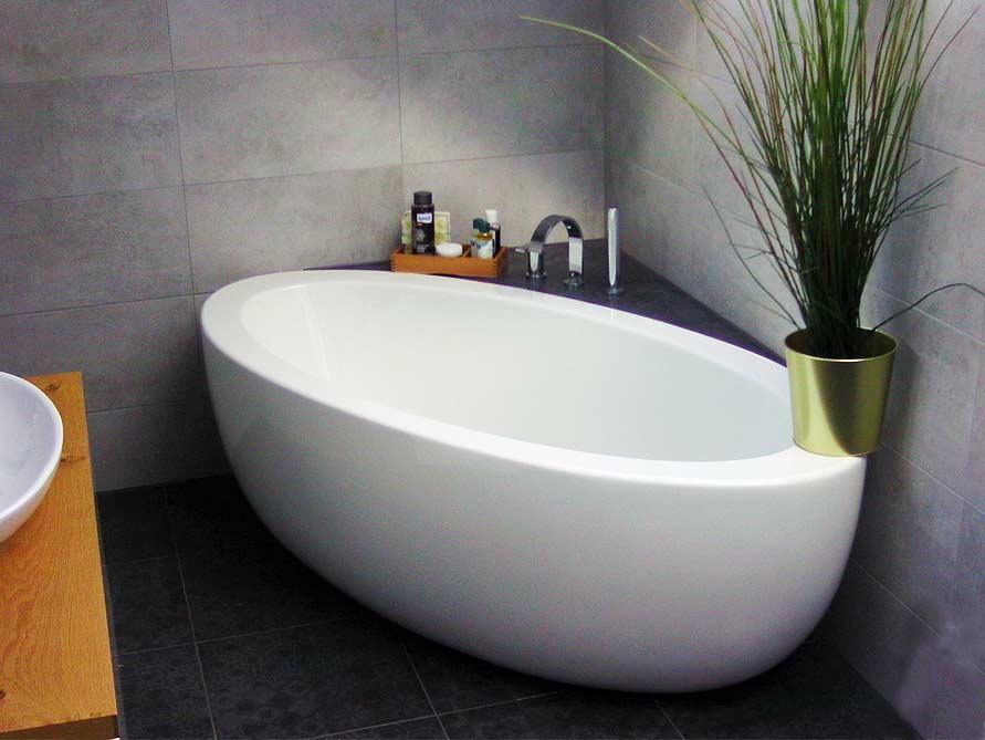 Badezimmer-Idee mit der freistehenden Badewanne Cartagena Grande