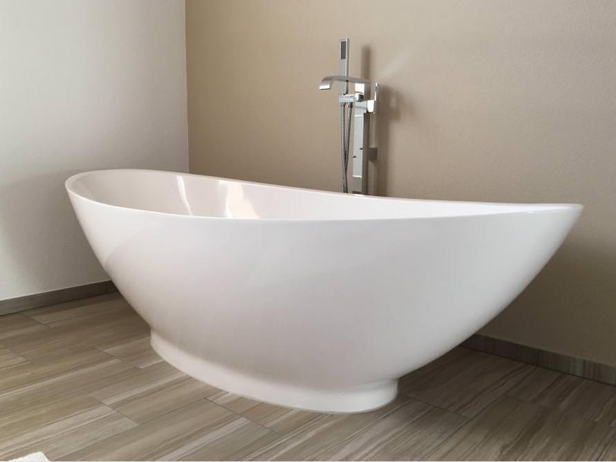 Badezimmer idee como freistehenden badewanne