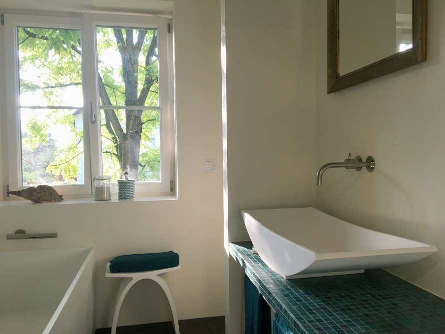 Badezimmer-Idee mit der freistehenden Badewanne Firenze
