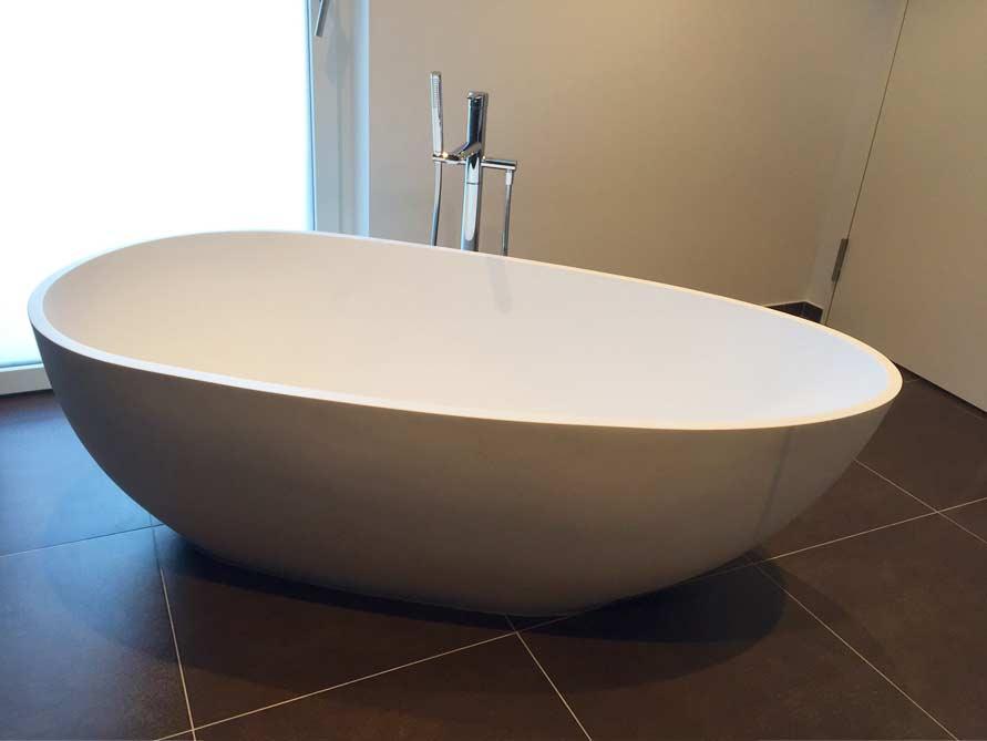 Designer Badewanne badezimmer idee luino freistehenden badewanne wannenform