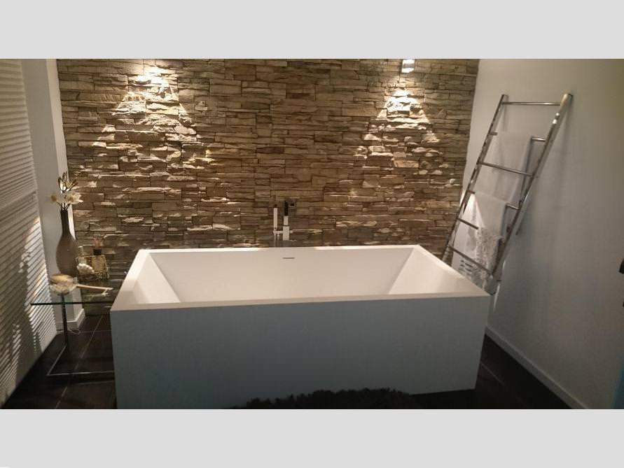 Badezimmer-Idee mit der freistehenden Badewanne Milano