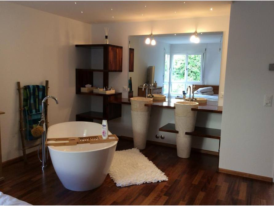 Badezimmer-Ideen mit der freistehenden Badewanne Montecristo