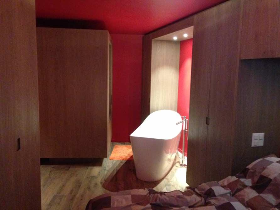 Badezimmer-Idee mit der freistehenden Badewanne Napoli
