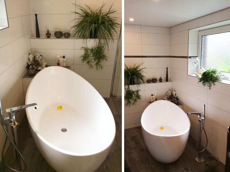 Badezimmer idee novara freistehenden badewanne for Badewanne badezimmer