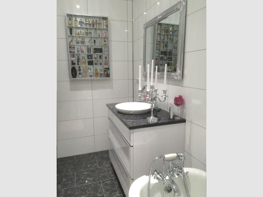 Badezimmer-Idee mit der freistehenden Badewanne Oldham