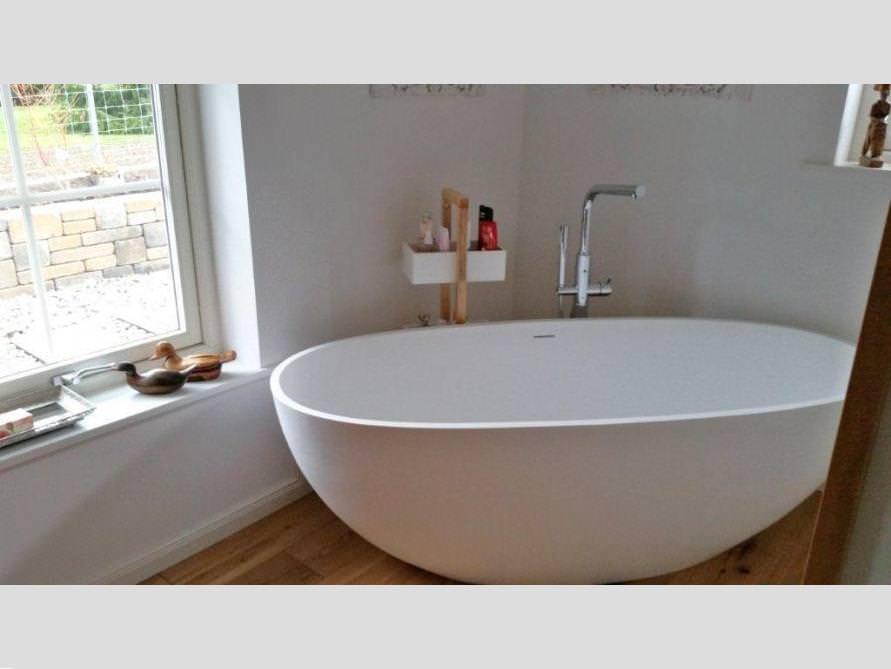Badezimmer Idee Piemont Freistehenden Badewanne Lösung