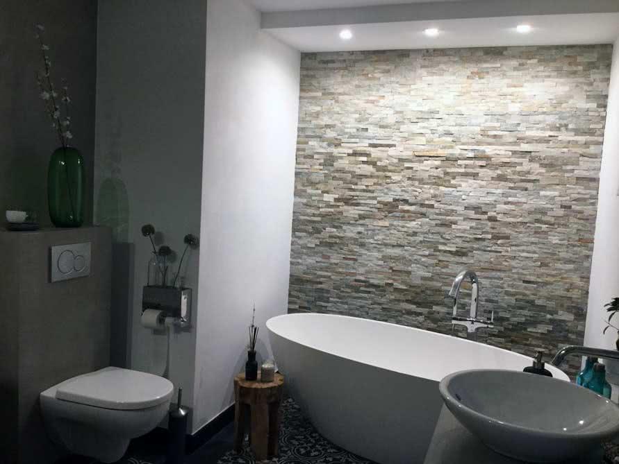 Badezimmer ideen mit der freistehenden badewanne piemont for Badezimmer badewanne