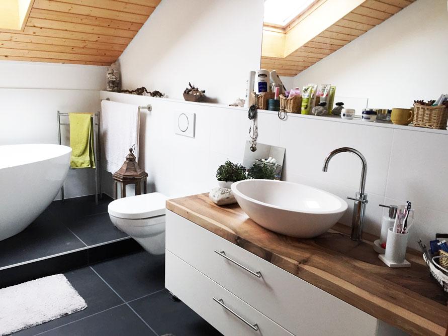 Badezimmer-Idee - Piemont Medio - freistehenden Badewanne - Einbau ...
