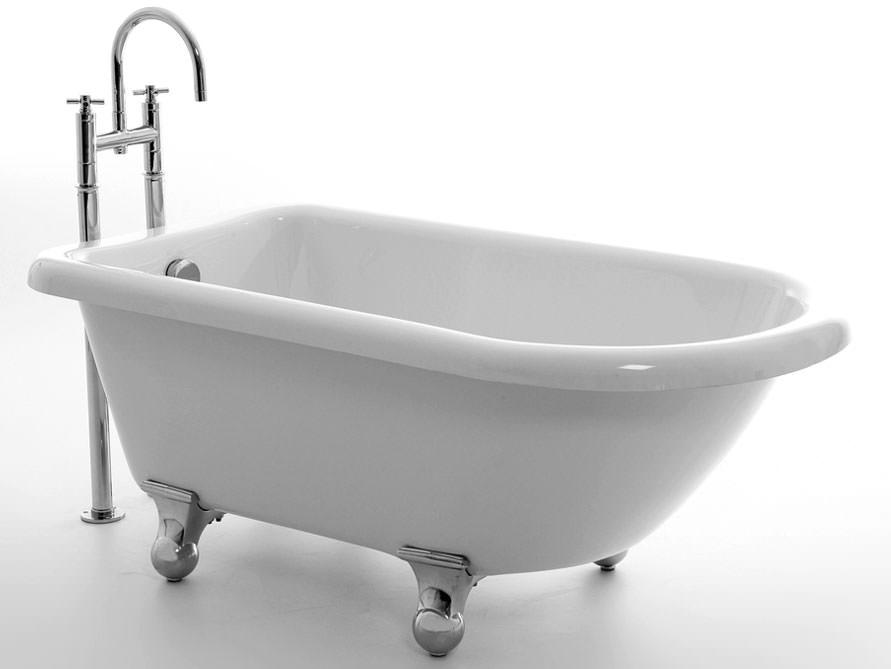 Chatham 138 - freistehende Acryl-Badewanne - weiß glänzend ...