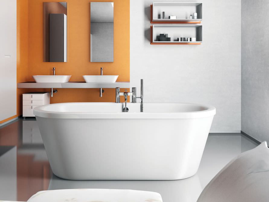 estepona grande freistehende acryl badewanne wei. Black Bedroom Furniture Sets. Home Design Ideas