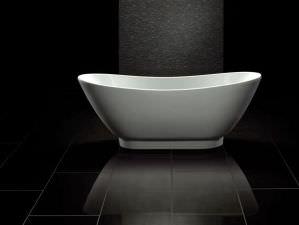 Sanitas - freistehende acryl-Badewanne