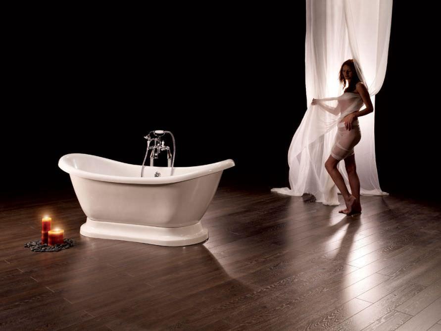 Badewanne freistehend mit füssen  Angebote für freistehende Nostalgie-Badewannen im Überblick