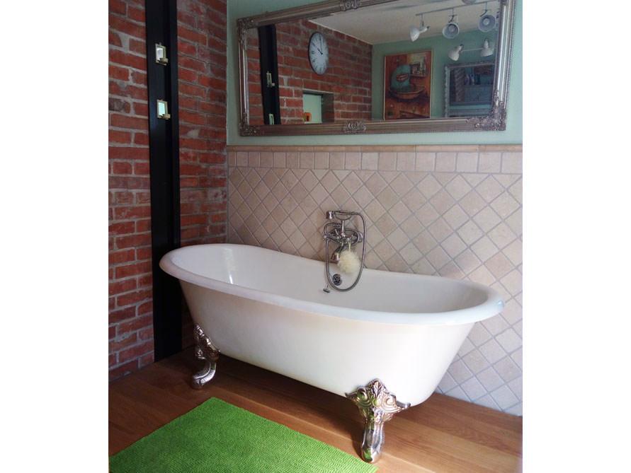 freistehende badewanne bristol aus guss wei 180x76x69 5 nostalgie duo. Black Bedroom Furniture Sets. Home Design Ideas
