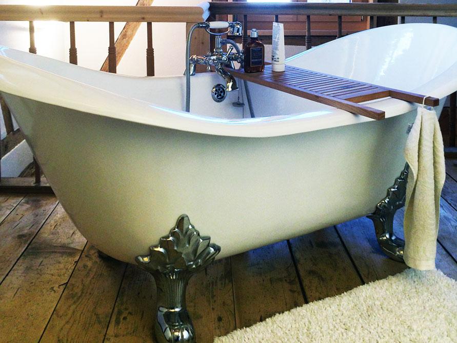 edinburgh - freistehende guss-badewanne - weiß - 182x76x80, Hause ideen