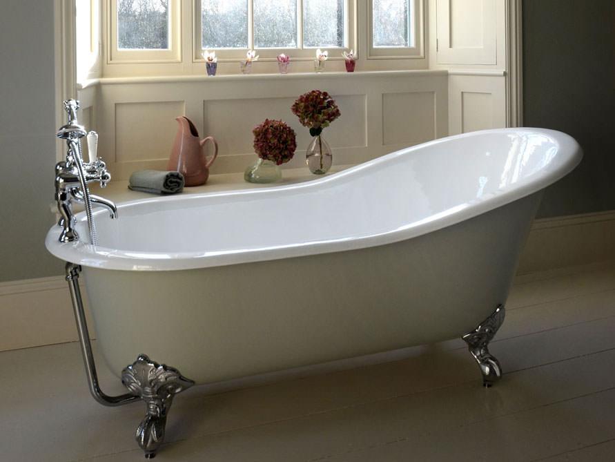 freistehende badewanne liverpool big aus guss wei 170x77x76 oval nostalgie. Black Bedroom Furniture Sets. Home Design Ideas