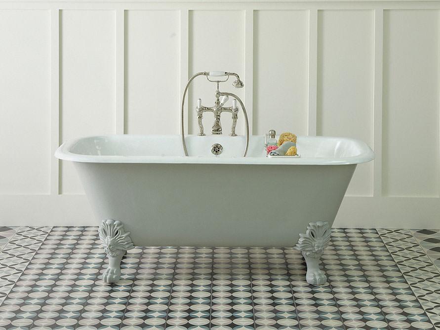 sheffield - freistehende guss-badewanne - weiß - 170x81x68, Hause ideen