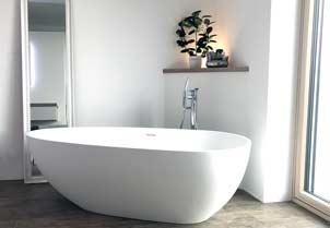 freistehende Badewanne Luino