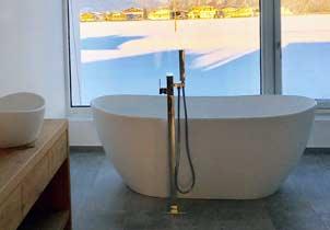 freistehende badewanne gro e auswahl edel g nstig. Black Bedroom Furniture Sets. Home Design Ideas