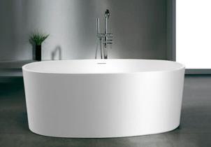 freistehende badewanne aus mineralguss edel g nstig. Black Bedroom Furniture Sets. Home Design Ideas