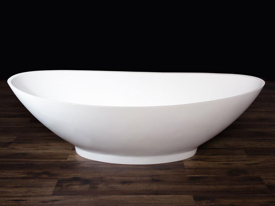 campione freistehende badewanne aus mineralguss. Black Bedroom Furniture Sets. Home Design Ideas