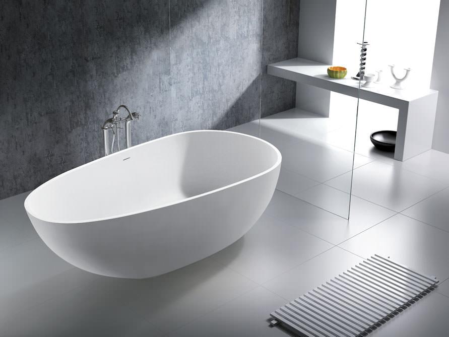 Freistehende badewanne mineralguss oder acryl  Freistehende Badewannen - Mineralguss Badewannen - Nostalgie Badewannen