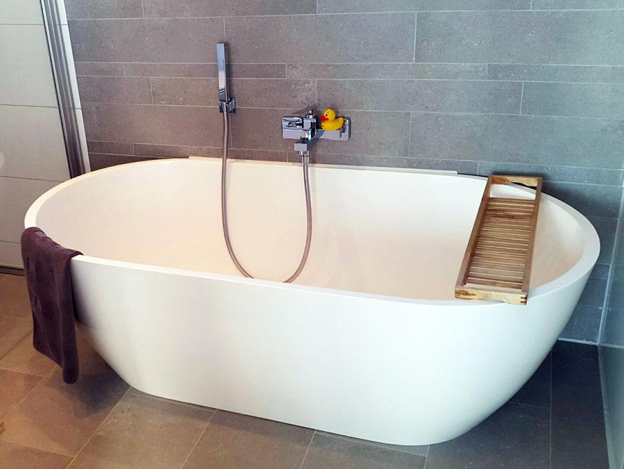 freistehende badewanne montecristo von b dermax mineralguss badewanne ebay. Black Bedroom Furniture Sets. Home Design Ideas