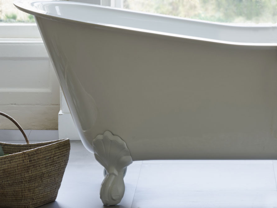 Freistehende Mineralguss Badewanne Oxford