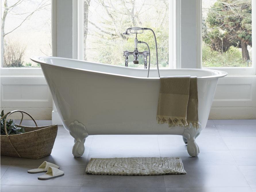 oxford freistehende mineralguss badewanne wei. Black Bedroom Furniture Sets. Home Design Ideas