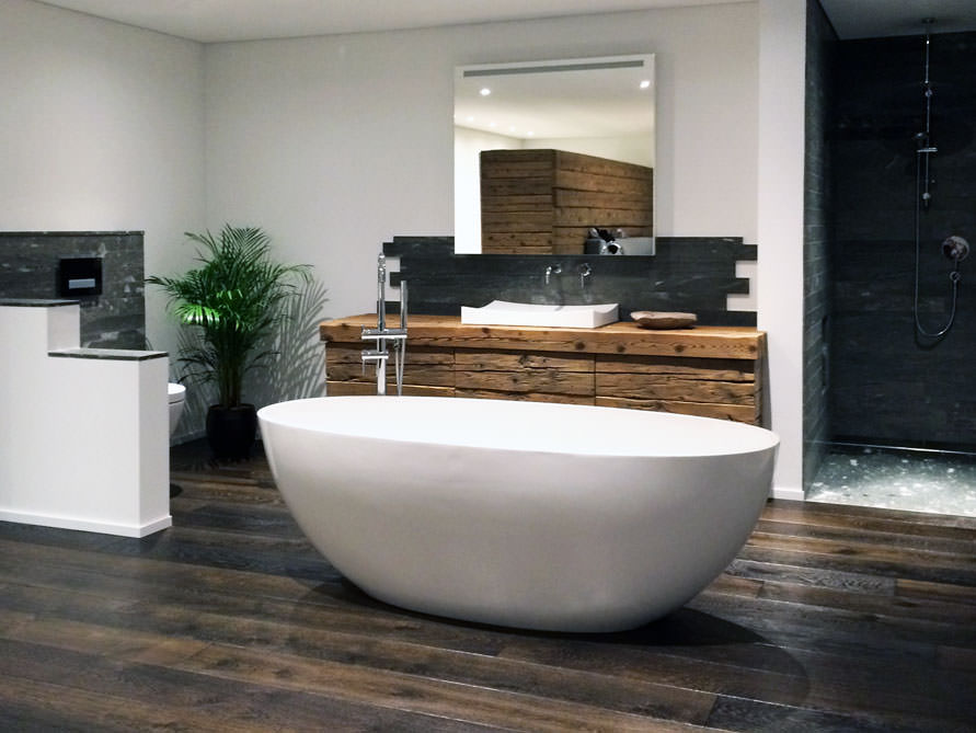 freistehende badewanne piemont von b dermax mineralguss badewanne ebay. Black Bedroom Furniture Sets. Home Design Ideas