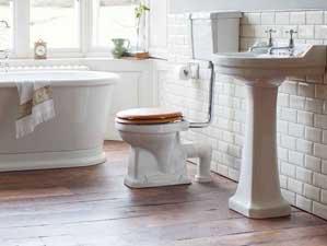 vintage p2 low stand wc stand wc keramik. Black Bedroom Furniture Sets. Home Design Ideas
